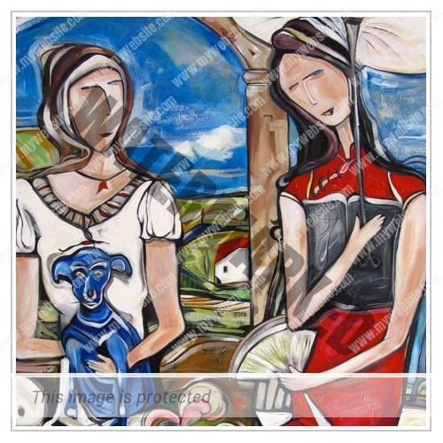 Blue Dog Poems Thumbnail - Michele Righetti Arte Singapore