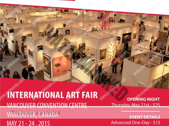 Art Vancouver 2015 - 21-24 May - The Art Of Michele Righetti Booth 213.jpg