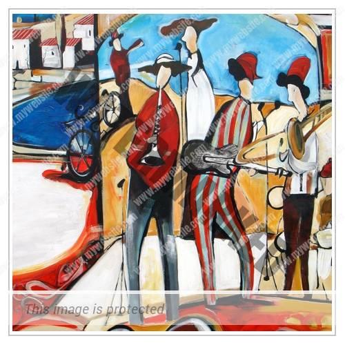 The Street Musicians Thumbnail - Michele Righetti
